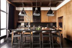 Dining Area, Kitchen Dining, Kitchen Sink, Dining Room, Black Granite Countertops, Kitchen New York, Marble Island, Cocinas Kitchen, Kitchen Colour Schemes