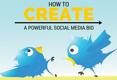 Do you want to improve your social media connections? Then you need a powerful social media bio! Here's how to create a powerful social media bio for you and your business. Business Marketing, Content Marketing, Online Marketing, Social Media Marketing, Digital Marketing, Business Tips, Online Business, Google Plus, Business Stories
