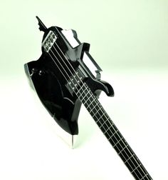 Axe bass made by Arturo Valdez in 1979, 2 nd version. KISS Gene Simmons Axe bass collection 1/4 scaled miniature collection. visit us at https://www.facebook.com/KISS.my.Axe.basses.group/ MyLittleGuitar #kiss #axebass #genesimmons #bassmodel
