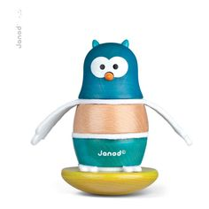 Culbuto Owl Janod Teen Children- A large selection of Toys and Hobbies on Smallable, the Family Concept Store - More than 600 brands.