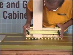 how to use a double tongue groove router youtube