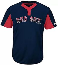 f68e2fbdb Majestic Navy Red 2-Button Cool-Base Boston Red Sox Blank or Custom