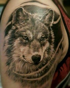 Wolf, progress on a larger piece