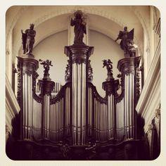 #Cavaillé-Coll / Mutin de la #collégiale #SaintPierre de #Douai.  #Organum #Orgue #Organ #Organo #Orgel #Орган #Órgano