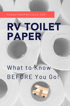 As you may know, an RV may feel a lot like a house on wheels but there can be issues when using household products in your RV. Toilet paper is a perfect example! We've met numerous RVer's over the years who did not realize that they needed special RV toilet paper for their rigs. And we've also seen them in campgrounds dealing with the effects, such as trying to unclog their black tank on a lovely Saturday afternoon! Definitely not a fun way to spend your day. Rv Travel, Travel Tips, Family Travel, Rv Toilet Paper, Road Trip Planner, Household Products, Road Trip Hacks, Rv Life, House On Wheels