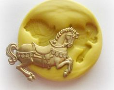 Horse Mold Small Mould Resin Clay Fondant Jewelry by WhysperFairy