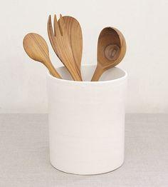 Tourne ceramic utensil holder.Brook Farm General Store