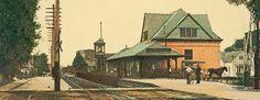 warsaw indiana images | Pennsylvania Railroad Depot, Warsaw, Indiana section | Flickr - Photo ...