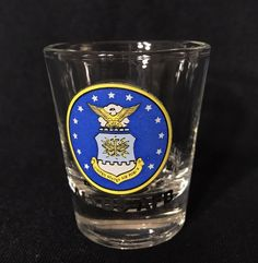 ALTUS AFB Shot Glass Air Force Base United States USA Crest Eagle Stars | Collectibles, Militaria, Militaria (Date Unknown) | eBay!