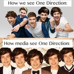 Like seriously. It's One Direction not Harry Styles