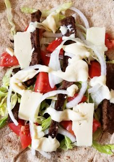 Learn how to make this East Coast delicacy! Satisfy your cravings by making your own donair meat at home — it's easy to make a donair just as good as the donair shop down the street. Halifax Donair Recipe, Donair Meat Recipe, Donair Sauce, Gyro Recipe, Sauce Recipes, Meat Recipes, Cooking Recipes, Lamb Recipes, Donuts