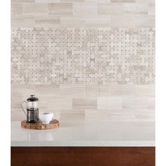 Valentino Gray Basket Weave Marble Mosaic - 12in. x 12in. - 100104991 | Floor and Decor