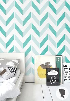 SIZE    - Small: 20.9 x 48  - Large: 20.9 x 96  - Custom sizes are available on request :)    DETAILS    - Peel and stick wallpaper  - Easy to install