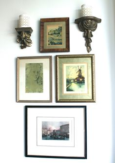 classic • casual • home: Project Design: Vintage Gallery Wall Completed!