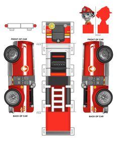 Marshall 3D Umhängetasche Paw Patrol «Marshall Feuerwehr-Fellfreund» 3D