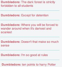 Dumbledore logic