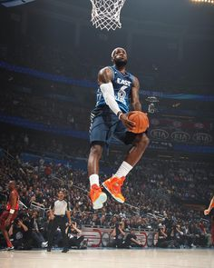 NBA all star game Lebron James Basketball Photos, Basketball Legends, Love And Basketball, Sports Basketball, Basketball Players, Basketball Court, Air Max 2009, Air Max Thea, King Lebron James