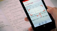 """Need more help with math problems than a calculator can provide? There's now an app for that. PhotoMath promises to help solve simple linear equations and other math problems by """"reading"""" questions with the help of your smartpho. Math Homework Help, Math Help, Learn Math, Math Class, Math Teacher, Application Pour Photo, Help With Math Problems, Apps Android, Android Camera"""