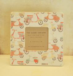 Sweet Ride Wood Picture Frame by TwoHandsDesigns on Etsy, $15.00