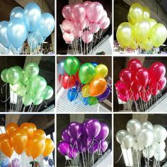 New 100pcs/lot 10inch 1.2g/pcs Latex Balloon Helium Thickening Pearl Celebration Party Wedding Birthday Christmas Balloon 14