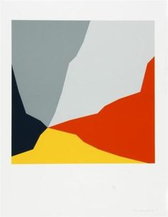 Untitled, from 'Zürcher Konkrete' - Verena Loewensberg. Swiss (1912-1986)