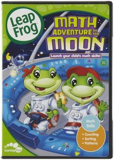 LeapFrog Math Adventure To The Moon DVD