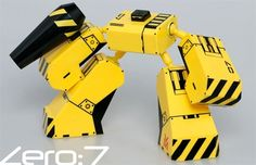 Mod:1Zero7 Yellow / Black Version