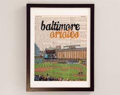 Hey, I found this really awesome Etsy listing at https://www.etsy.com/listing/170625451/baltimore-orioles-dictionary-art-print