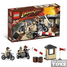 Lego 7620 Indiana Jones Motorcycle Chase en doos