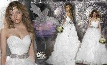 traje de novia de tipo duende-elfo-hada