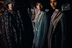 Backstage at Missoni, Fall/Winter 2016/2017 | Milan via Le 21ème