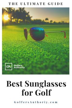 Golf Fashion Are you looking for the Best Sunglasses for Golf? Check out our in depth buyers guide to find the best pair of sunglasses for you. Golf Score, Golf Chipping, Golf Instruction, Golf Putting, Golf Exercises, Golf Training, Golf Lessons, Golf Gifts, Golf Accessories