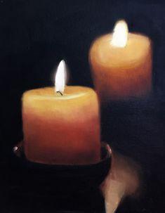 Candles Painting Candles Art Candles PRINT Candles #art @EtsyMktgTool #candle #candles #oilpainting #art #giclee #uk #artprint #print