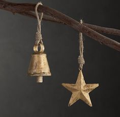 RUSTIC ORNAMENT COLLECTION - BRASS