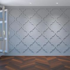 White Wall Paneling, Off White Walls, Paneling Walls, Modern Wall Paneling, Wood Walls, Panelling, Pvc Wall Panels, Decorative Wall Panels, Accent Wall Panels