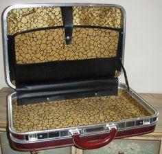 vintage Luggage McBrine TRAIN CASE suitcase by LandLockedCottage ...
