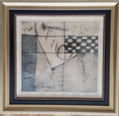 Currently at the Catawiki auctions: Anton Heyboer, 'Mental' - etch with green, 1957, signed
