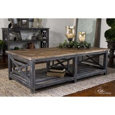 Great Uttermost Spiro Coffee Table