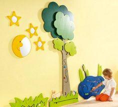 HABA Tree and Animals Meadow Wall Decor | SensoryEdge | Waiting Room Toys | Classroom Rugs | Always Free Shipping