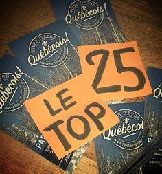 Mon top 25 de fierté québécoise