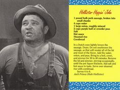 Mayberry Hollister Hoppin' John Recipe Postcard
