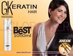 Keratin Hair GK Hair The Best 1000ml Global Keratin Juvexin
