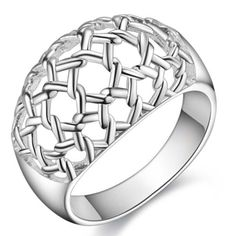 New-925-Sterling-Silver-jewelry-fashion-cute-women-lady-ring-free-shipping