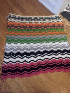 Ravelry: Project Gallery for Crochet Ripple Baby Blanket pattern by Judy Hice