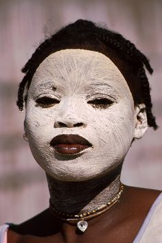 Mozambico, woman Makonde