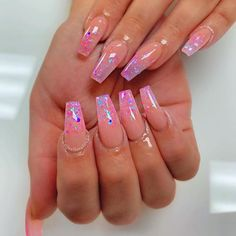 Come visit us Often, we post fresh and surprising Nail designs every single day. Aycrlic Nails, Diy Nails, Hair And Nails, Glitter Nails, Coffin Nails, Dream Nails, Love Nails, Best Acrylic Nails, Instagram Nails