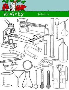Science clipart for upper grades!