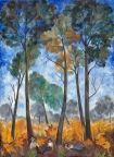 Autumn Landscape - Natalia Goncharova - The Athenaeum