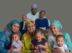GOSSIP, GISTS, EVERYTHING UNLIMITED: See Gen. Muhammadu Buhari's Family New Photoshoot
