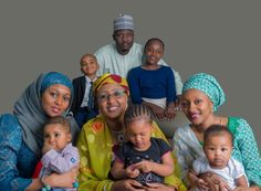 Lightup Concepts: Gen. Muhammadu Buhari's Family in New Photoshoot